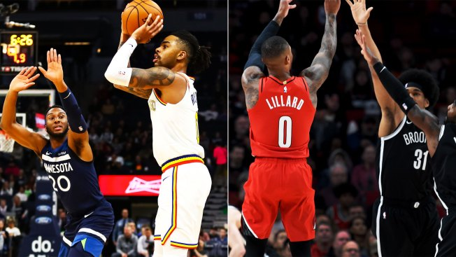 D'Angelo Russell, Damian Lillard Both Score 50-plus Points in Losses