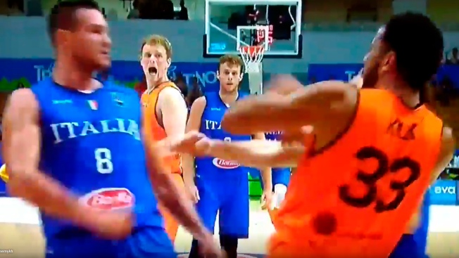 Danilo Gallinari Punches Opponent In Exhibition Game