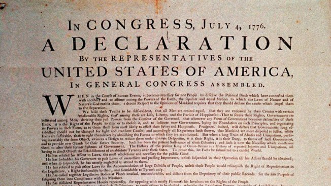 NPR's Declaration of Independence Tweetstorm Confuses Some