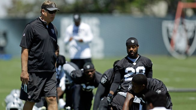 Raiders Minicamp Observations: Del Rio's Pop Quiz Adds Pressure to Practice