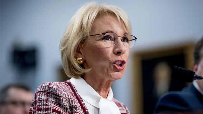 Betsy DeVos Grilled in Congress Over Proposed Elimination of Special Olympics Funding