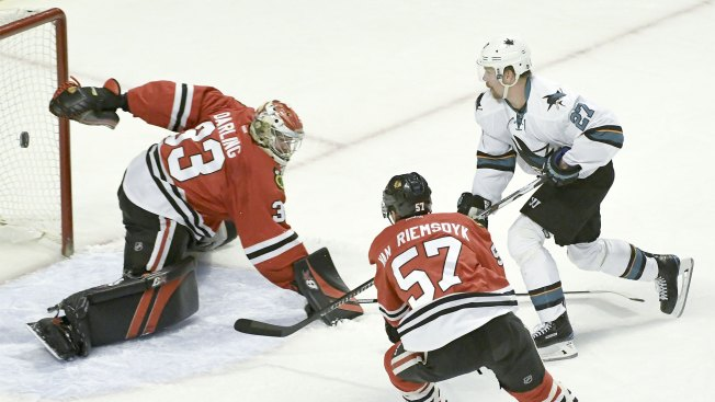 Three Takeaways: Sharks Hang With 'Hawks, Don't Capitalize on Chances