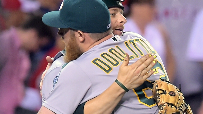 A's Trade Relievers Doolittle, Madson to Washington