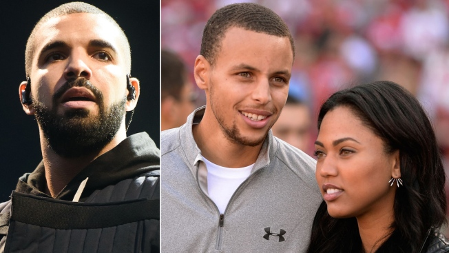 Drake Pops Up at Ayesha Curry Restaurant Opening
