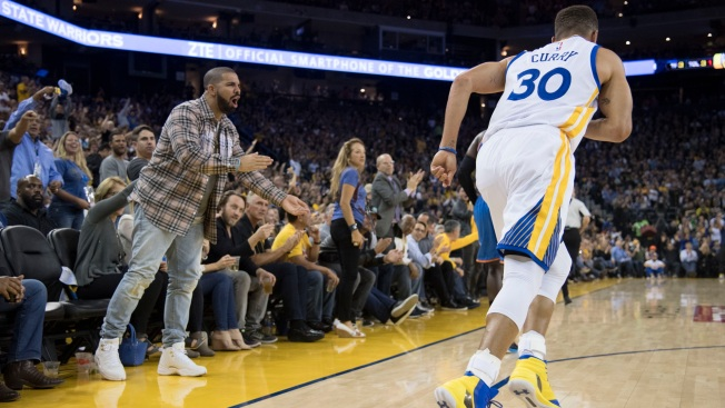 Why Does Raptors Fan Drake Have Stephen Curry, Kevin Durant Tattoos?