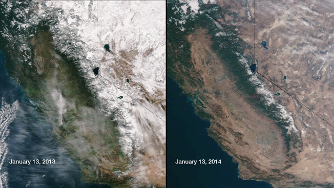 California Drought, Unseasonable Weather Worsen Fire Season