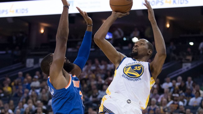Kevin Durant claims he was targeted by official prior to ejection