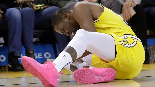 4aa0f9b05af Warriors  Kevin Durant to Miss Rockets Game With Sprained Ankle ...