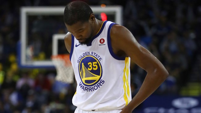 Kevin Durant apologizes for conduct toward National Basketball Association referee