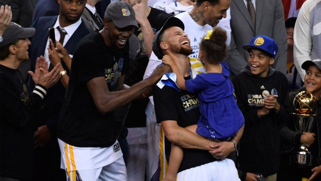 Warriors fans celebrate, with expectations of more to come