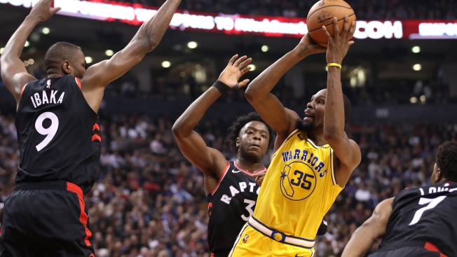 Warriors Rally to Force Overtime, But Fall to Raptors in Thriller