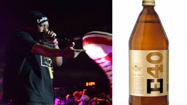E-40 Introduces 40-Ounce Malt Liquor