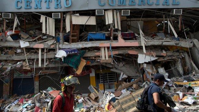 Ecuador Quake: Death Toll Climbs Past 500
