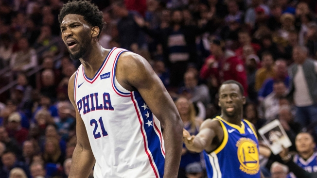 Joel Embiid comes clean on Twitter jab at Warriors