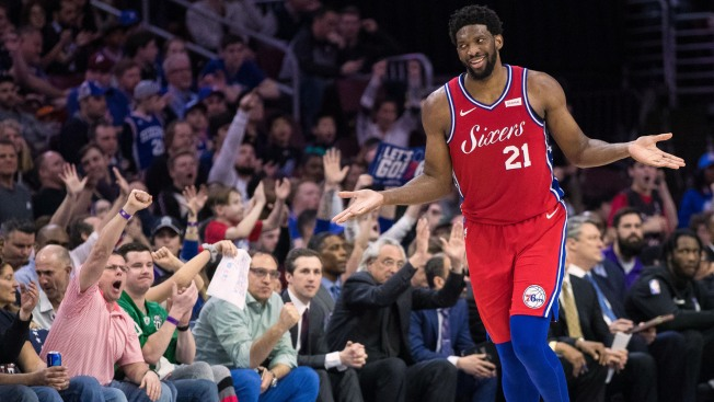 Joel Embiid Takes Shot at Warriors After 76ers Take 3-1 Lead Over Nets