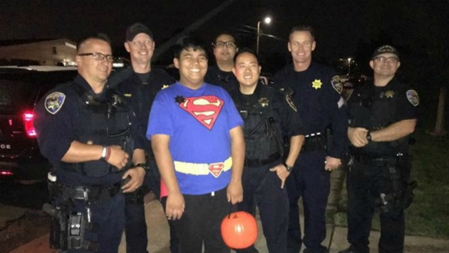 No Trick-or-Treaters For Boy With Autism; Hayward Police And Fire Save the Day