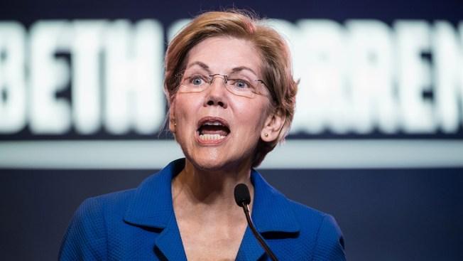 2020 Hopeful Elizabeth Warren Pushes Election Security Plan