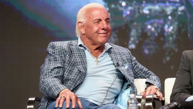 Pro Wrestler Ric Flair Out of Surgery and Resting