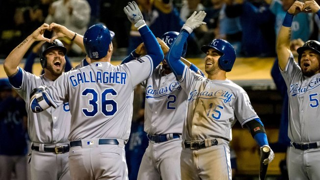 Gallagher's slam sends Royals over A's