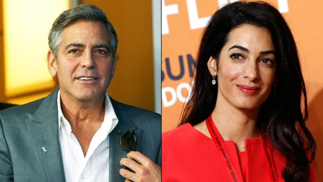 George Clooney and Amal Alamuddin Get a Marriage License in London