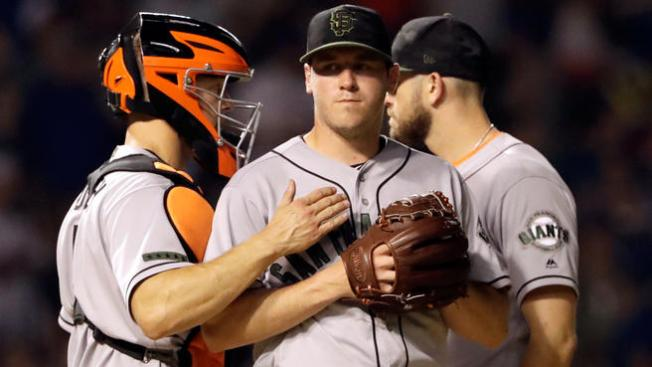 Giants Unable to Hold Lead, Drop Series to Cubs