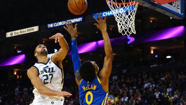 Wounded Warriors Overmatched in Loss to Jazz