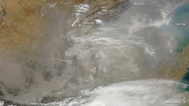 Dust From Chinese Storm Reaches Calif.