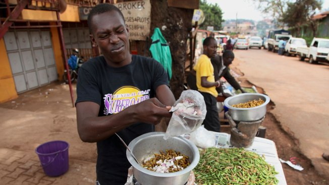 Grasshoppers a Tasty, Nutritious Holiday Treat in Uganda