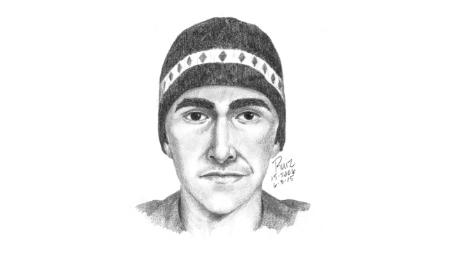 Sketch Shows Suspect in Trail Groping
