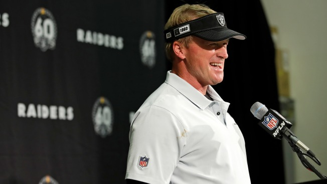 Watch Jon Gruden's Postgame Speech After Raiders' Week 1 Win Vs. Broncos