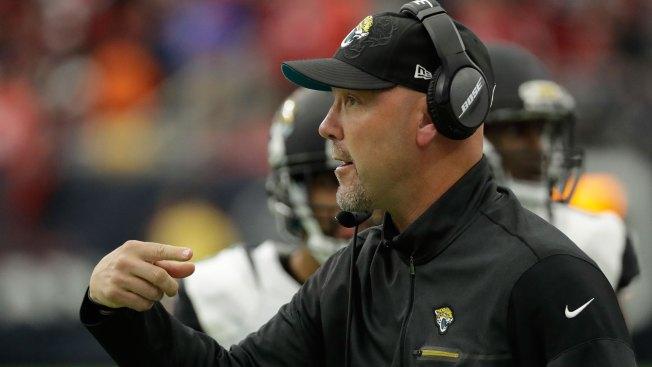 Jaguars head coach Gus Bradley fired