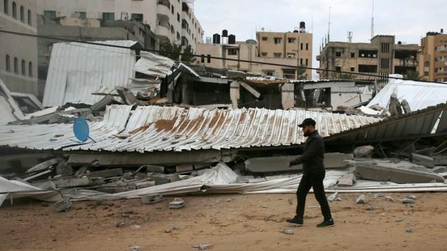 Israel Strikes 100 Gaza Targets Following Tel Aviv Rocket Attack