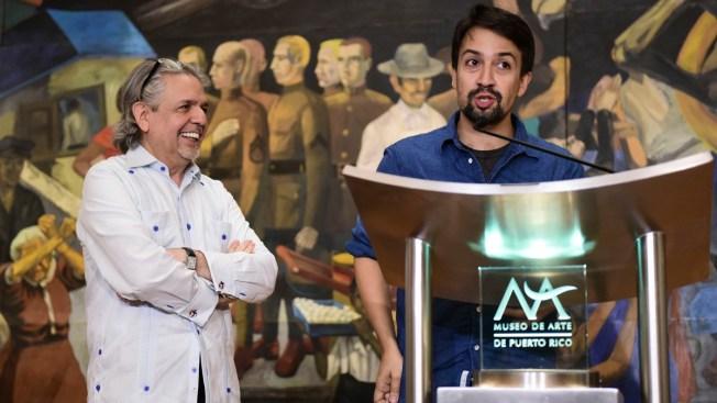 'Hamilton' Creator Lin-Manuel Miranda Announces Arts Fund for Puerto Rico