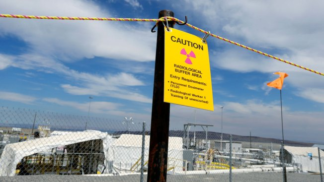 Tunnel collapses at Washington state nuke site