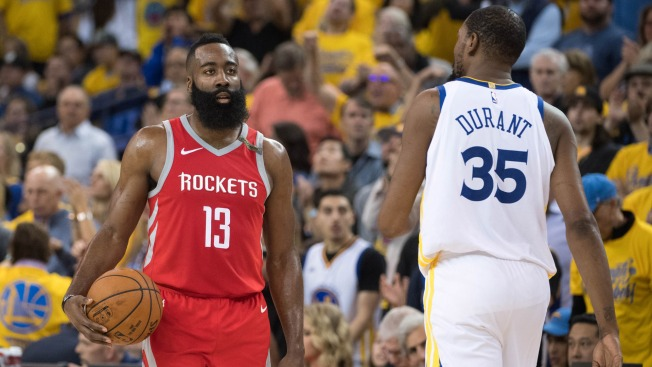 0812fb144807 Why Kevin Durant Doesn t Think James Harden  cheats Game  With Playing Style