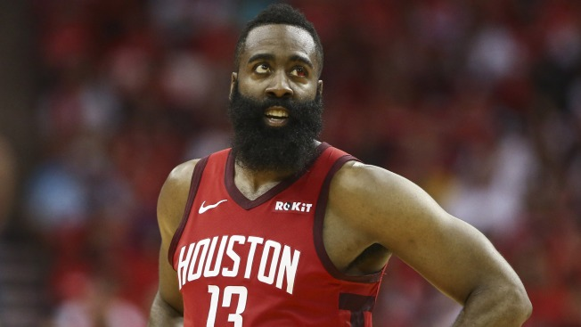07666437ae8 Did James Harden Try to Trip Draymond Green Late in Warriors-Rockets Game 5