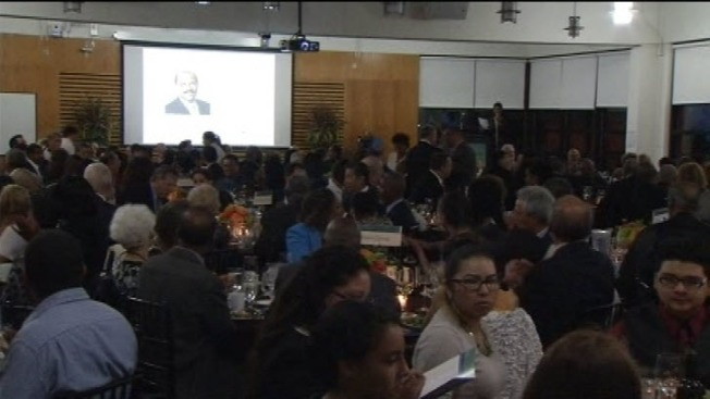 Former Oakland Mayor Elihu Harris Honored