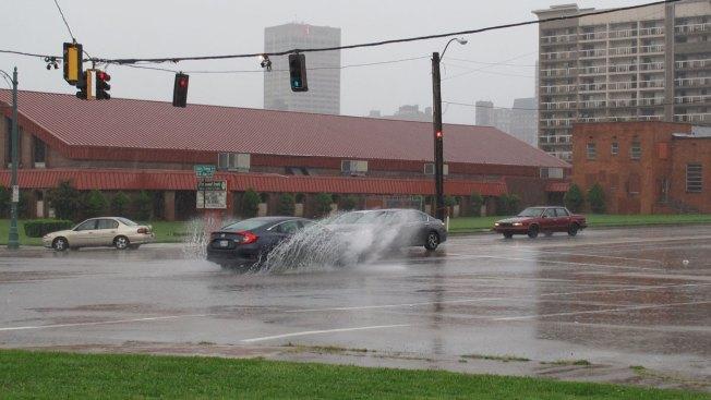 Floods, Apparent Tornado Damage as Harvey Hits Deep South