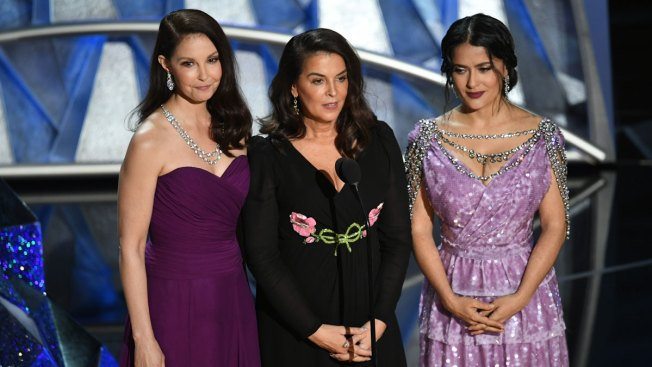 Oscars Shine Spotlight on #MeToo and Time's Up