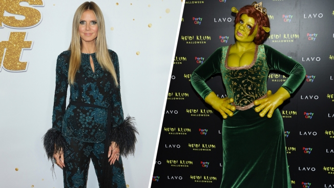 Heidi Klum Channels 'Shrek' Character Princess Fiona for Halloween