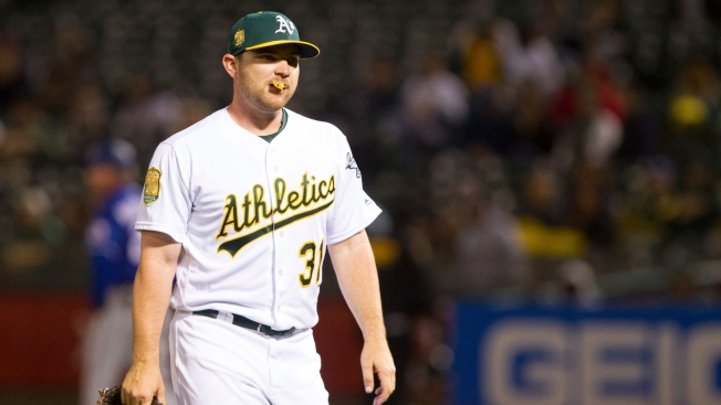 A's Reliever Liam Hendriks Selected to AL All-Star Team as Replacement