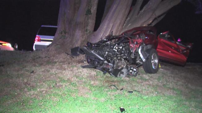 Driver Strikes Tree in Half Moon Bay, Pronounced Dead Before Emergency Crews Could Free Her