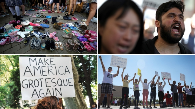 [NATL]Trump Administration's Migrant Family Separation Policy Stirs Anger, Protests
