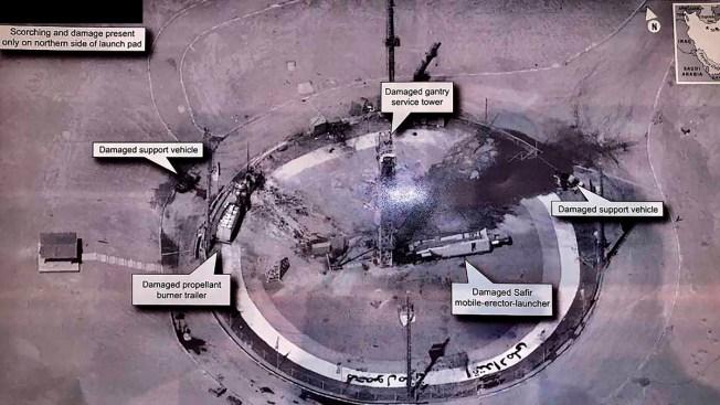 Mysterious Iran Rocket Blast Draws Trump Tweet, Tehran Taunt