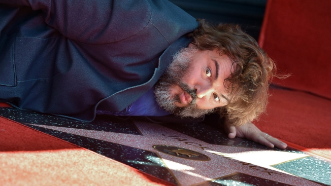 Jack Black Receives Star on Hollywood Walk of Fame