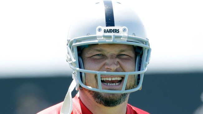 Retirement Plans for Raiders' Kicker? Not 'until They Kick Me Out'