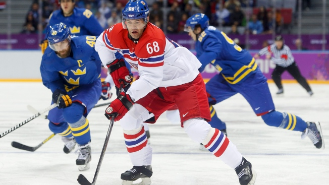 On Golden Ponds: Jagr Leads Olympic Club 4-0