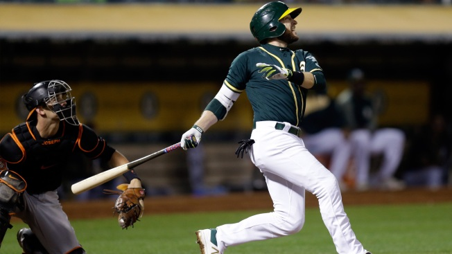 Trade Or No Trade, Jed Lowrie Keeps Producing for A's