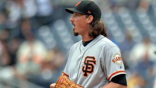 Fourth-place Padres blow out Samardzija, Giants to clinch series