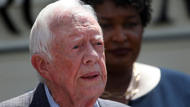 Jimmy Carter: Georgia GOP Gov. Candidate Brian Kemp Shouldn't Also Oversee State's Election